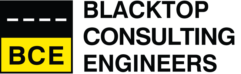 Blacktop Material Engineers Logo